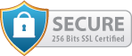 We use SSL encrypted booking process