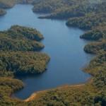 Lagoon in Chiloe Island