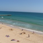 Faro Beach - Sand and Ocean