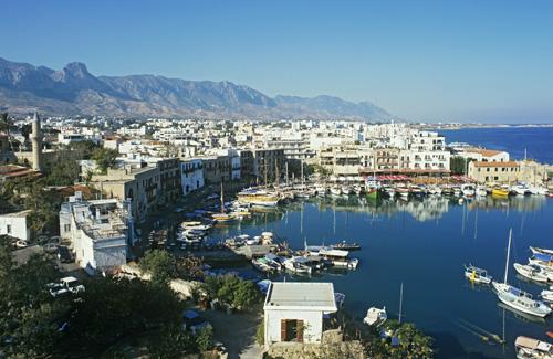 Cyprus coastal village