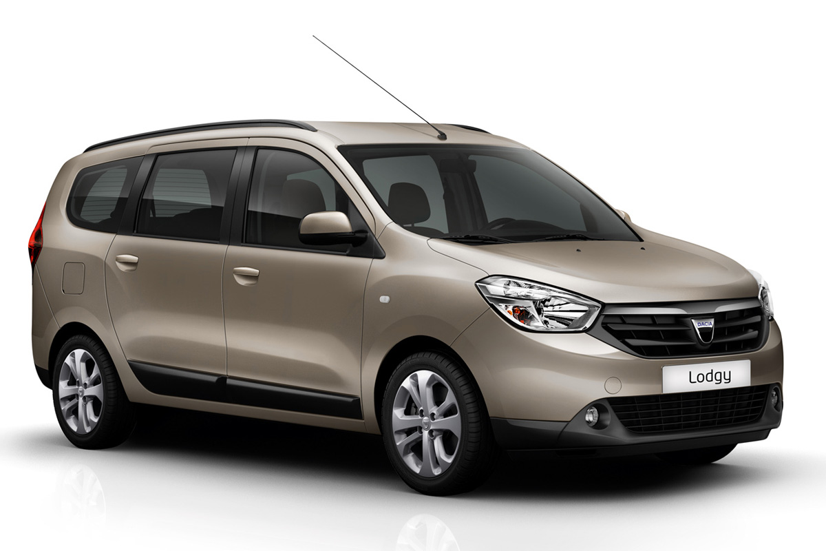 The new Dacia Lodgy