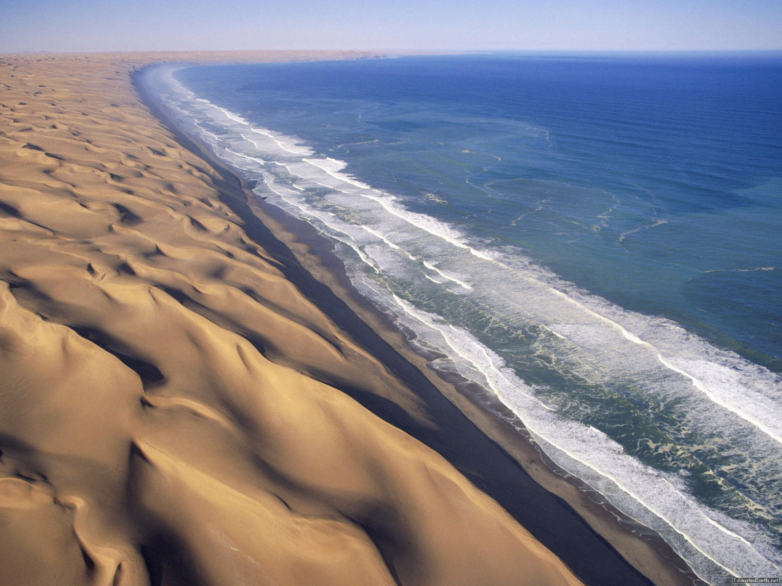 The Skeleton Coast of Namibia