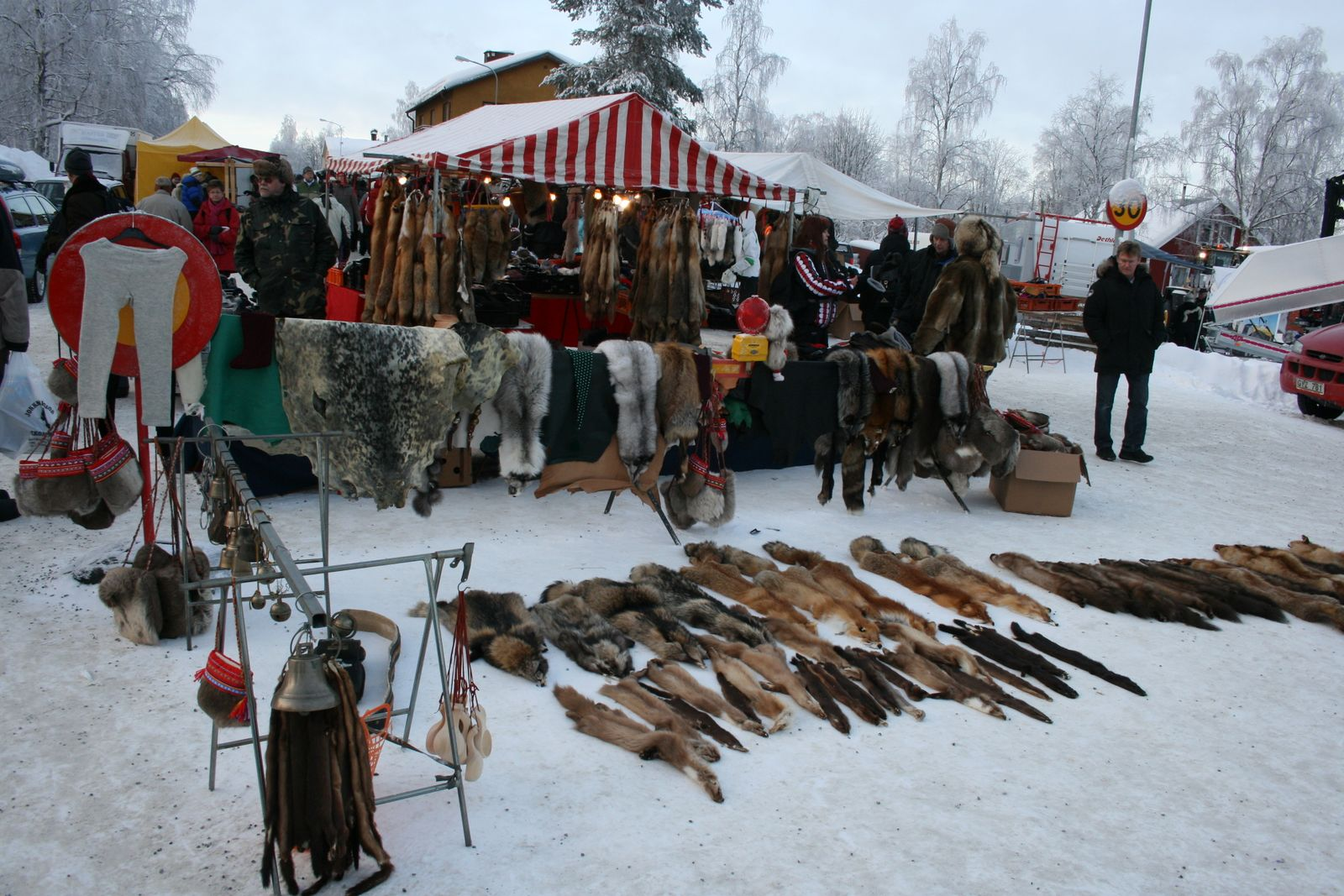 The Sami festival of Jokkmokk Market
