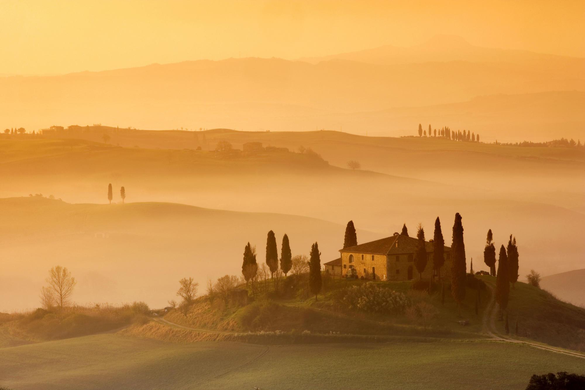 The unique allure of Tuscany