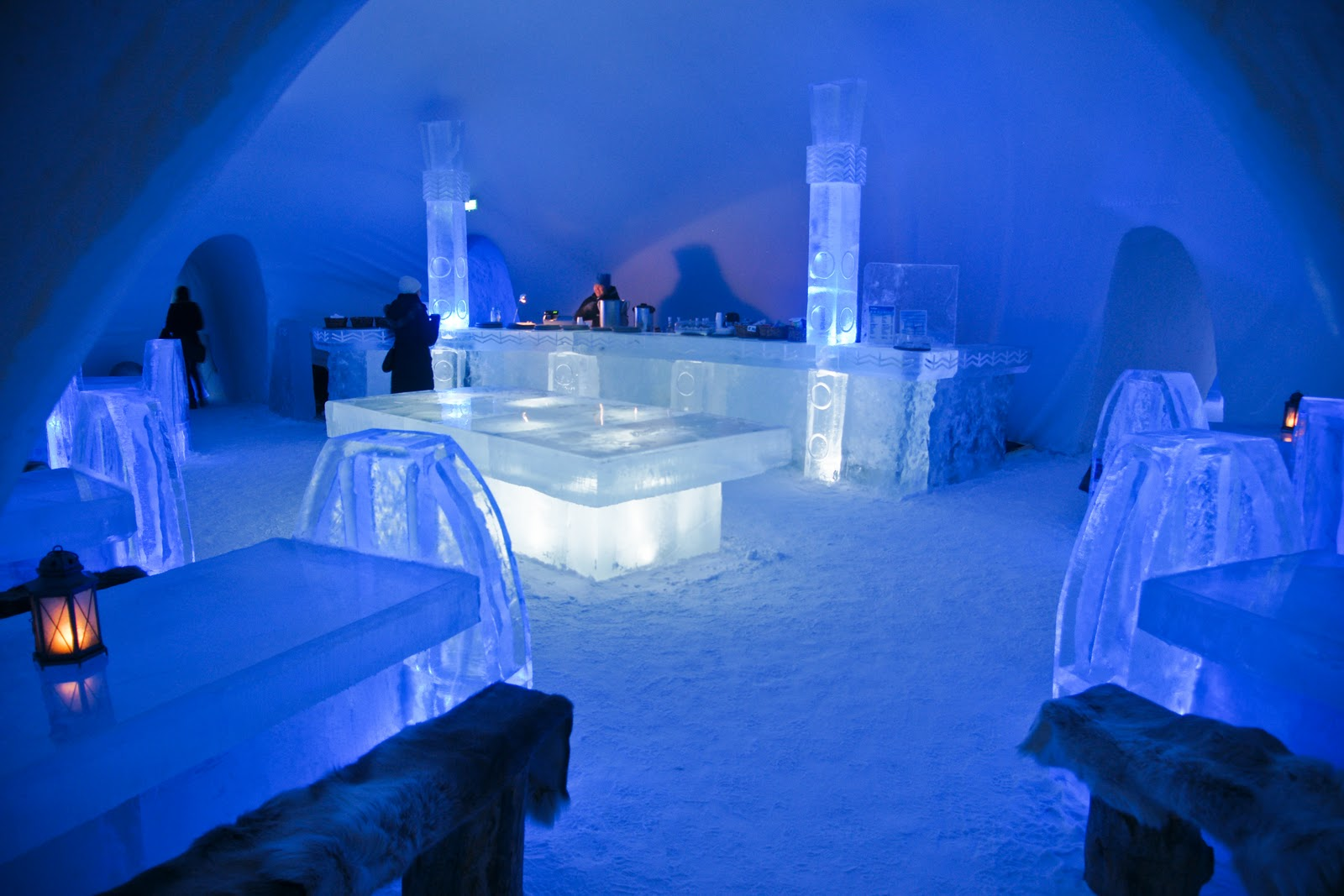 Winter novelties – Ice Hotels