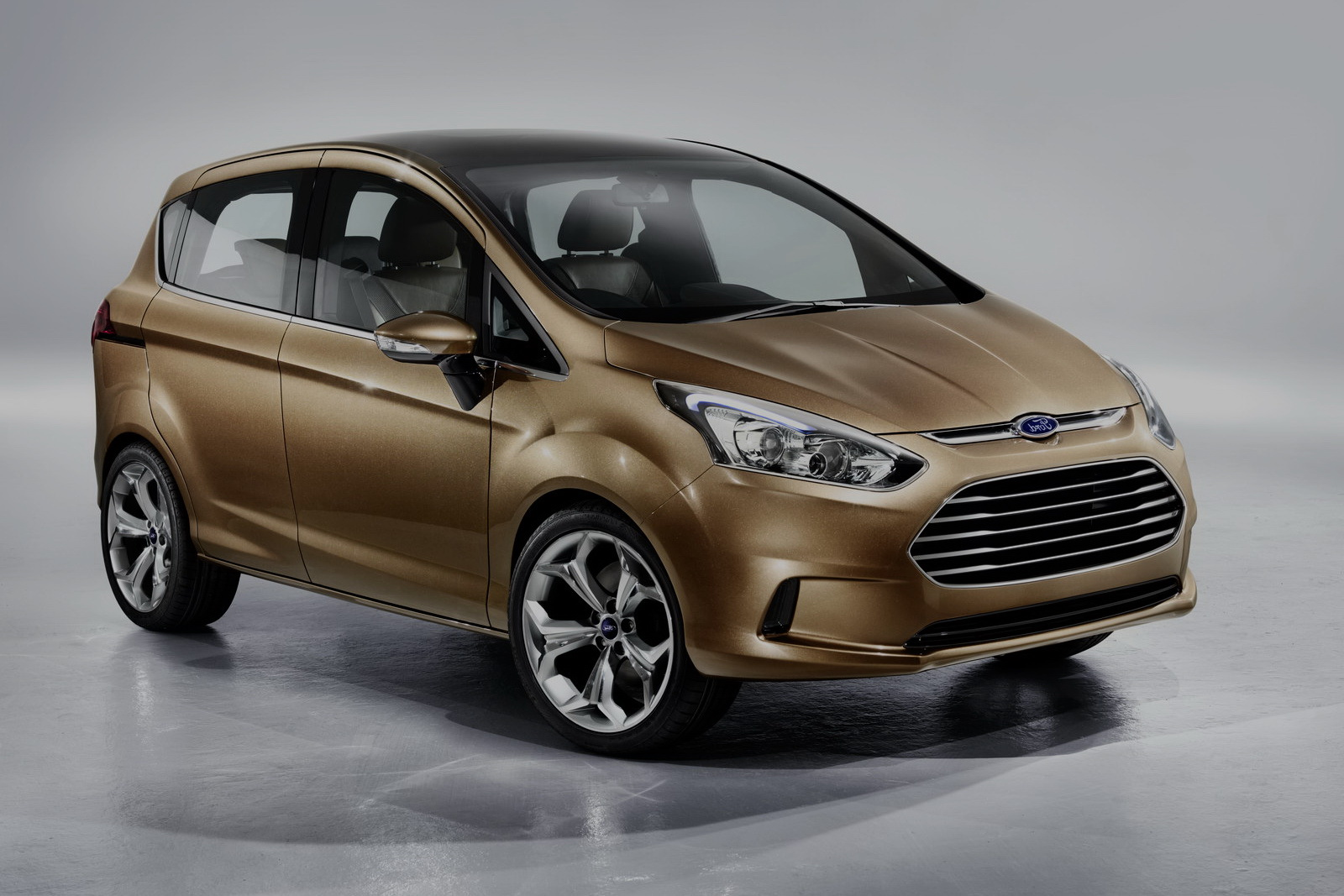 The Ford B-Max at the Geneva Motor Show 2012