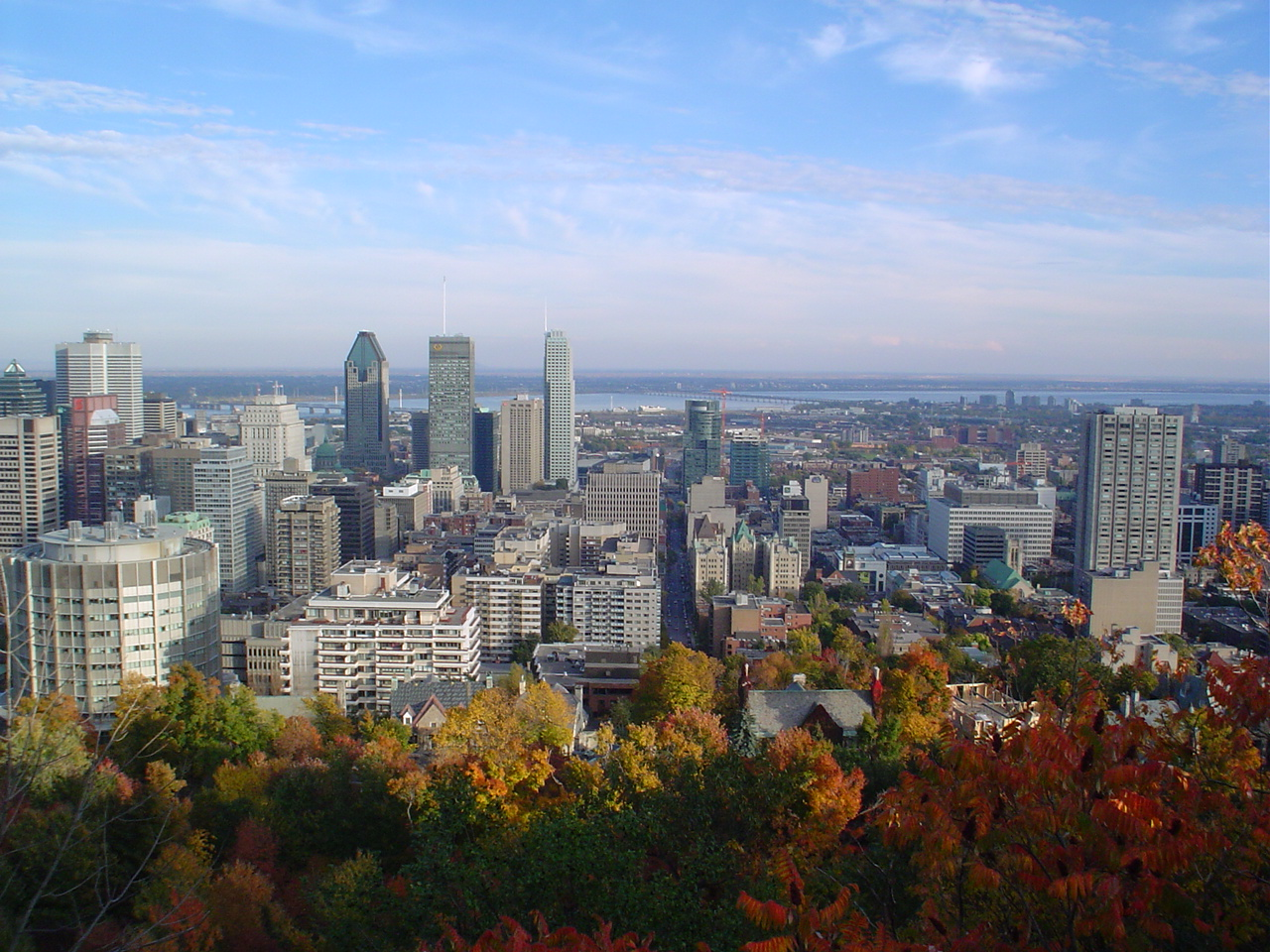 A short peek at modern Montreal