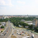 View over the city Timisoara Photo