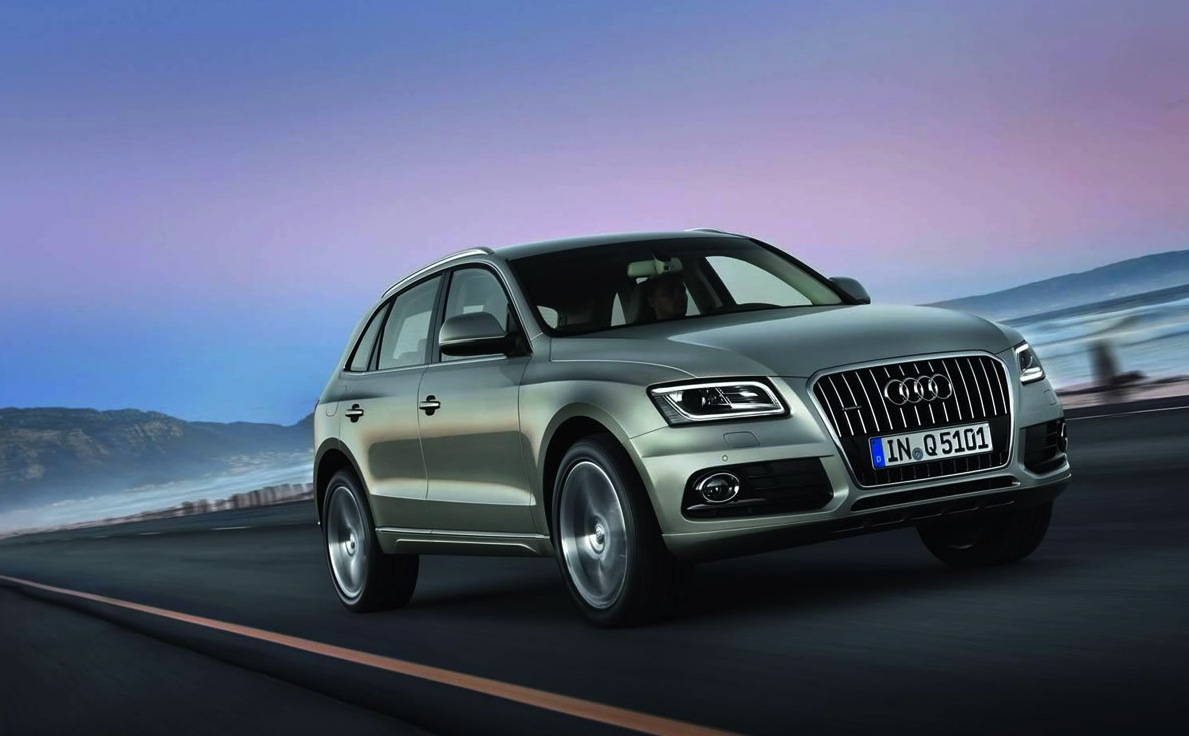 Audi Q5 2013 face-lift