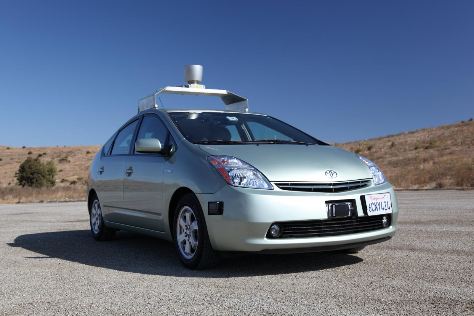 Google's autonomous vehicle got its driving license