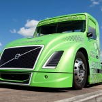 Volvo hybrid - Mean Green