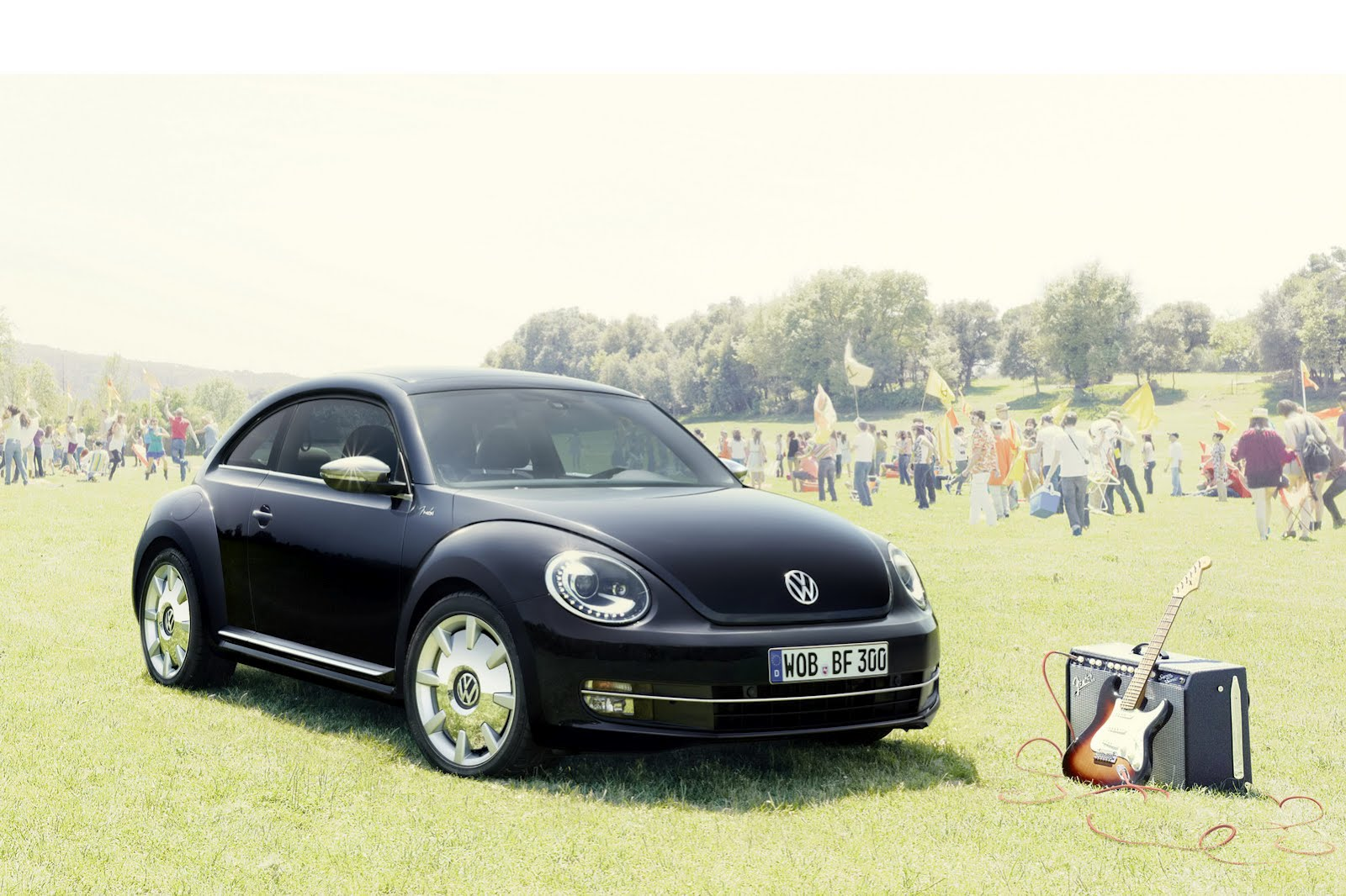 The Volkswagen Beetle Fender Edition