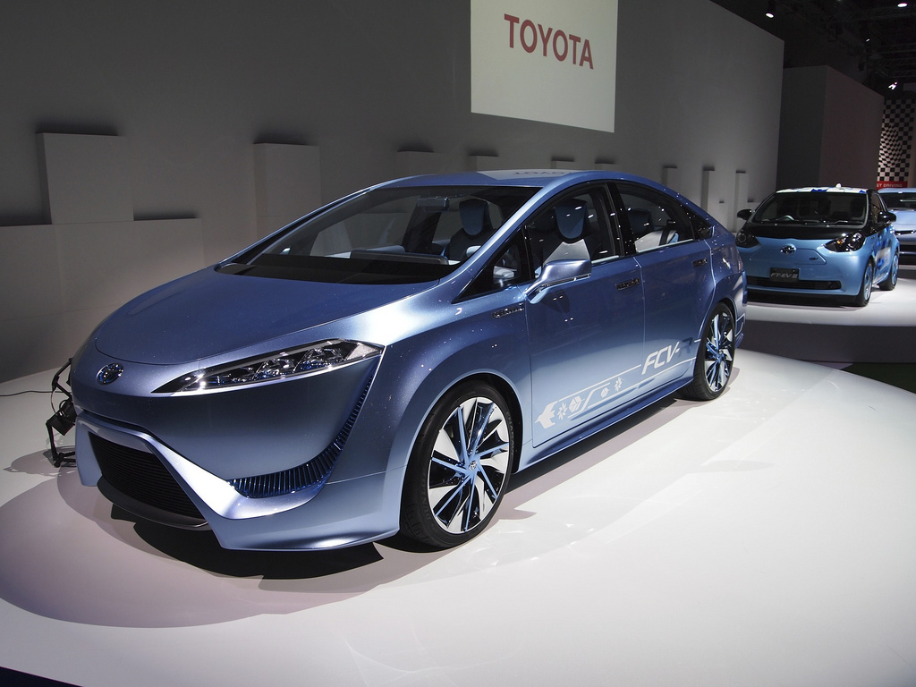 Toyota's hydrogen fuel-cell future