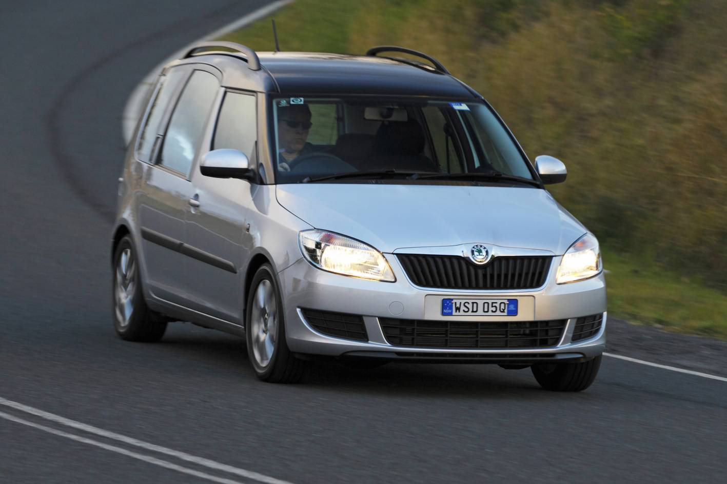 The new Skoda Roomster