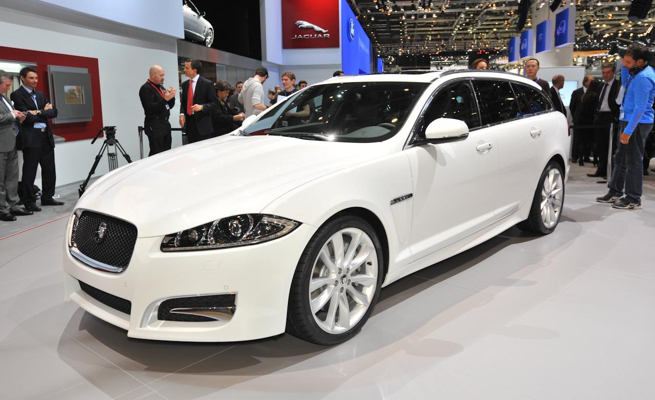 The 2013 Jaguar XF and XJ updates