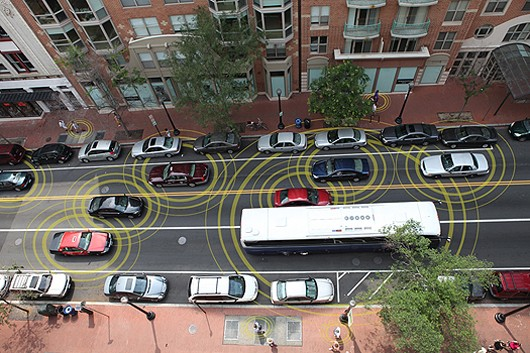 First large scale vehicle-to-vehicle communication technology study