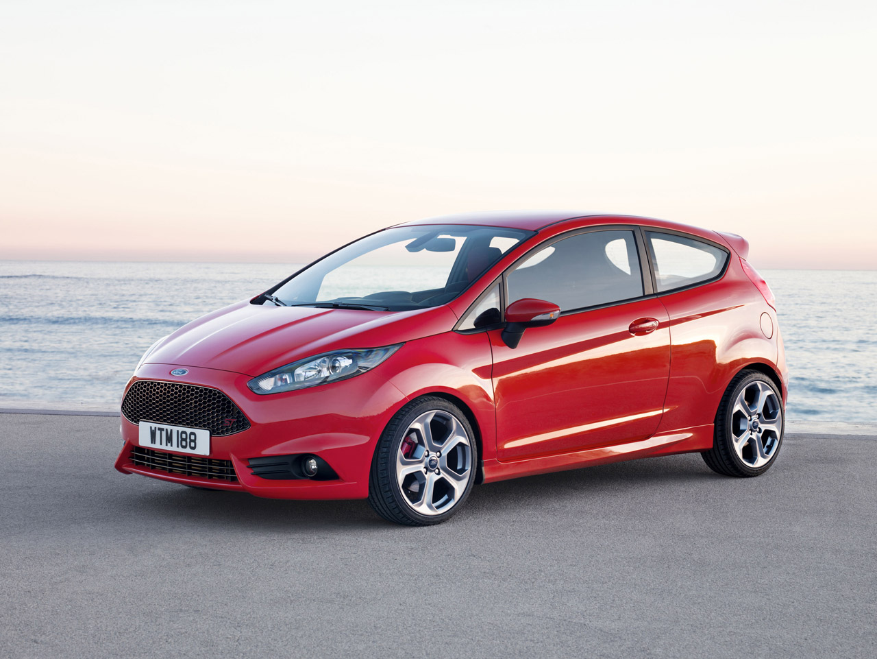 The 2013 Ford Fiesta stats