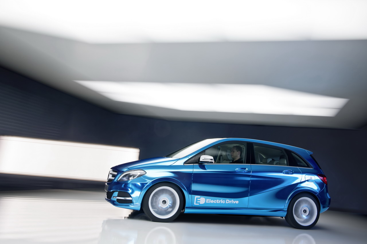 The Mercedes B-Class Electric Drive