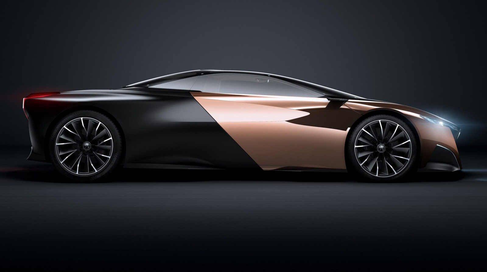 The Peugeot Onyx concept