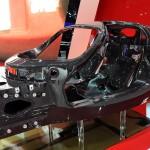 Ferrari F70 carbonfibre chassis