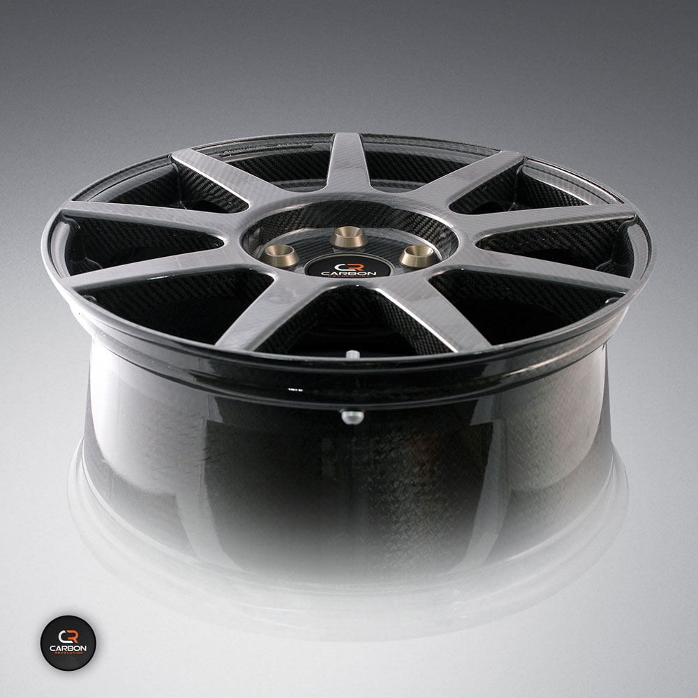 One-piece carbon fibre wheel rim from Carbon Revolution