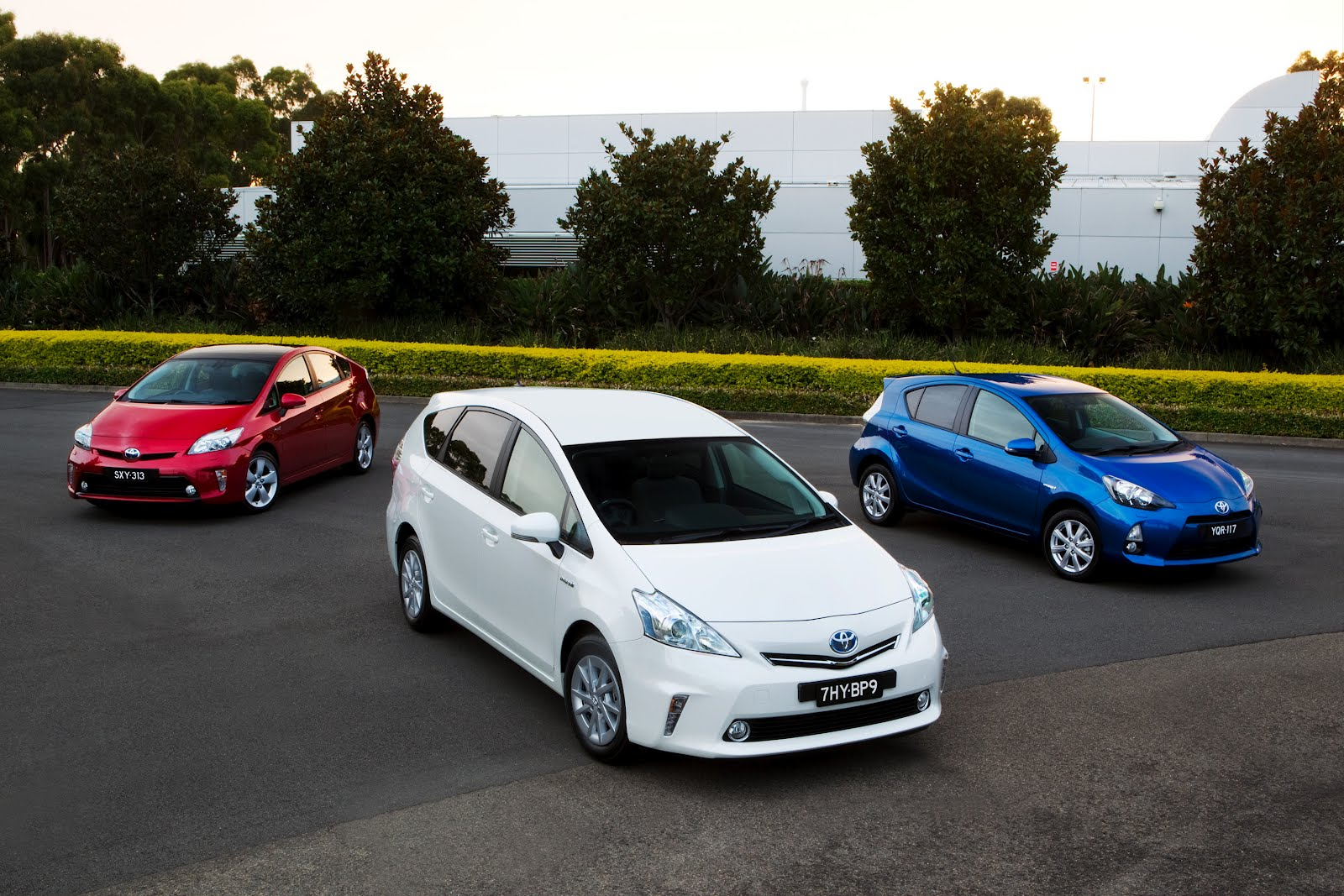 Toyota sold more than one million hybrids in 2012