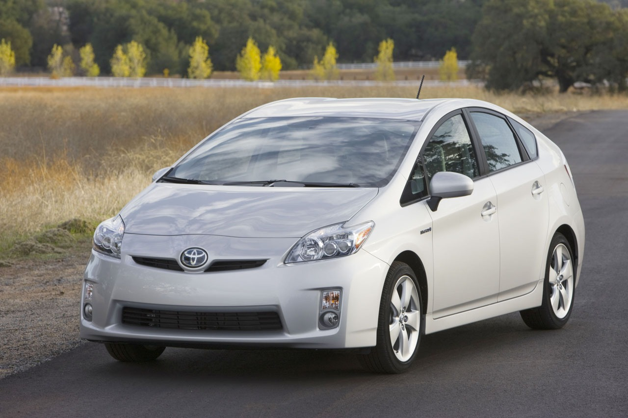 Prius models are not big with car thieves