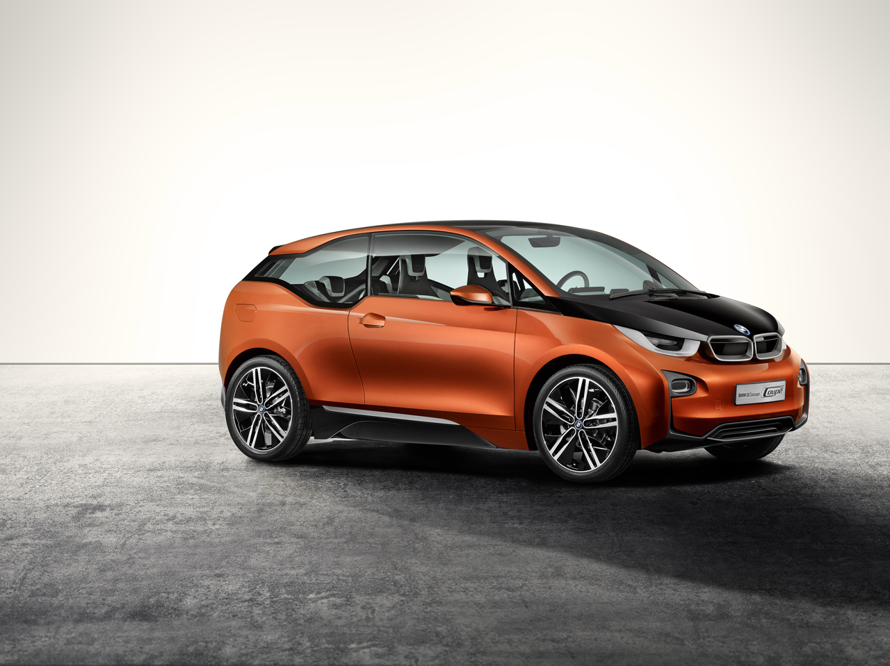 The BMW i3 Coupe concept