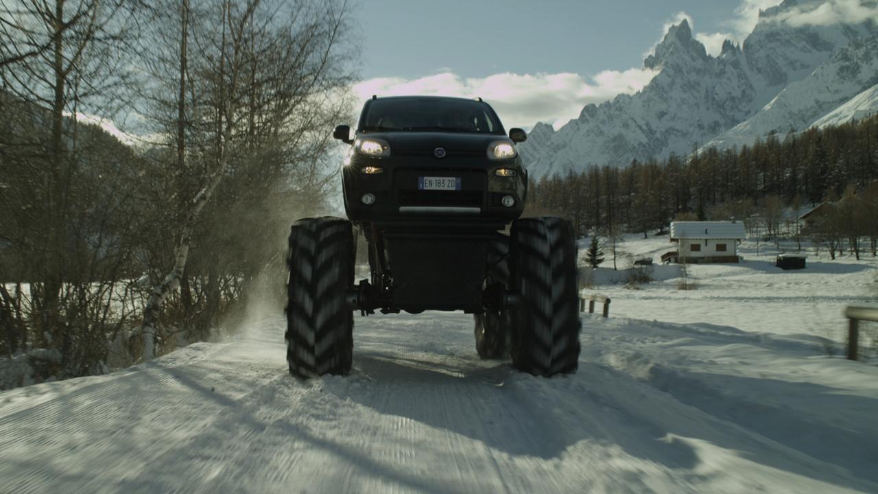 Fiat Panda 4×4 Monster Truck