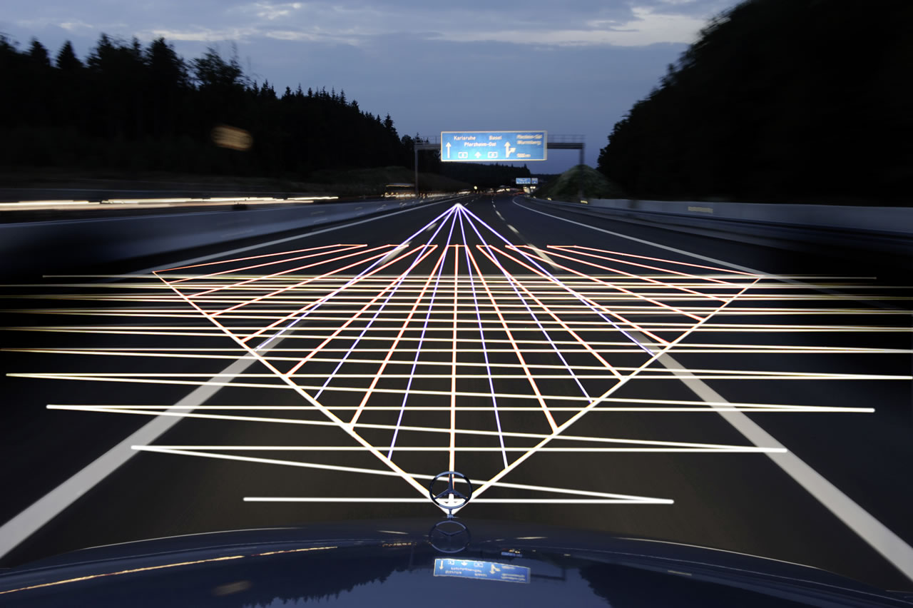 Mercedes Benz to prevent wrong way driving
