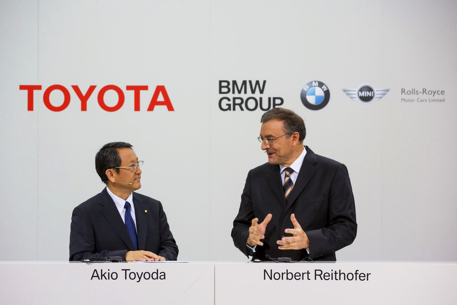 BMW and Toyota to deepen their collaboration