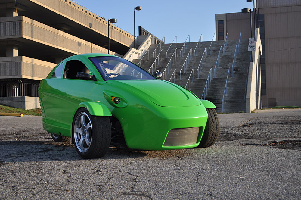 Elio Motors and their three-wheel vehicle