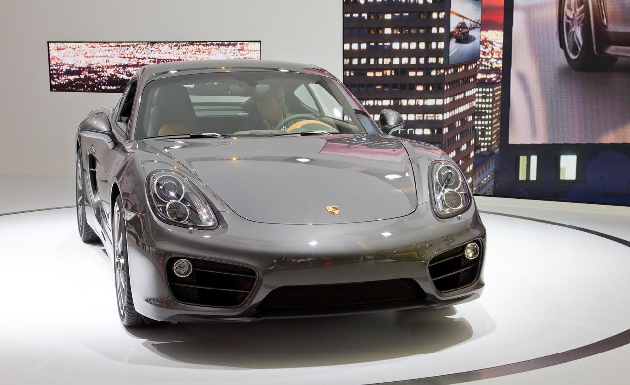 International debut of the 2013 Porsche Cayman