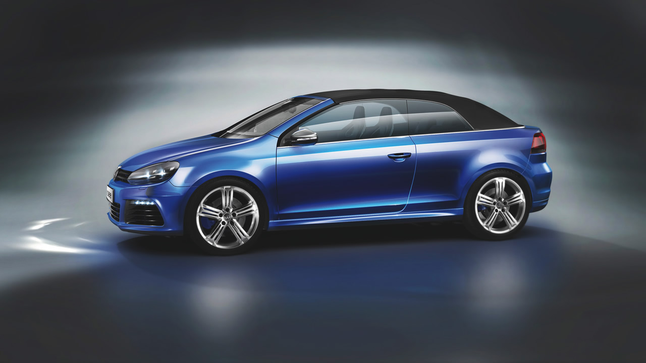 Volkswagen Golf R Cabriolet details revealed
