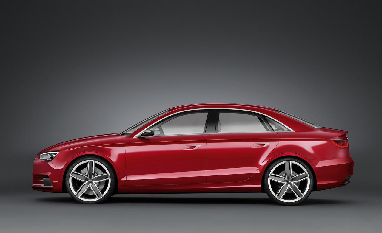 Audi A3 sedan will be available in 2013
