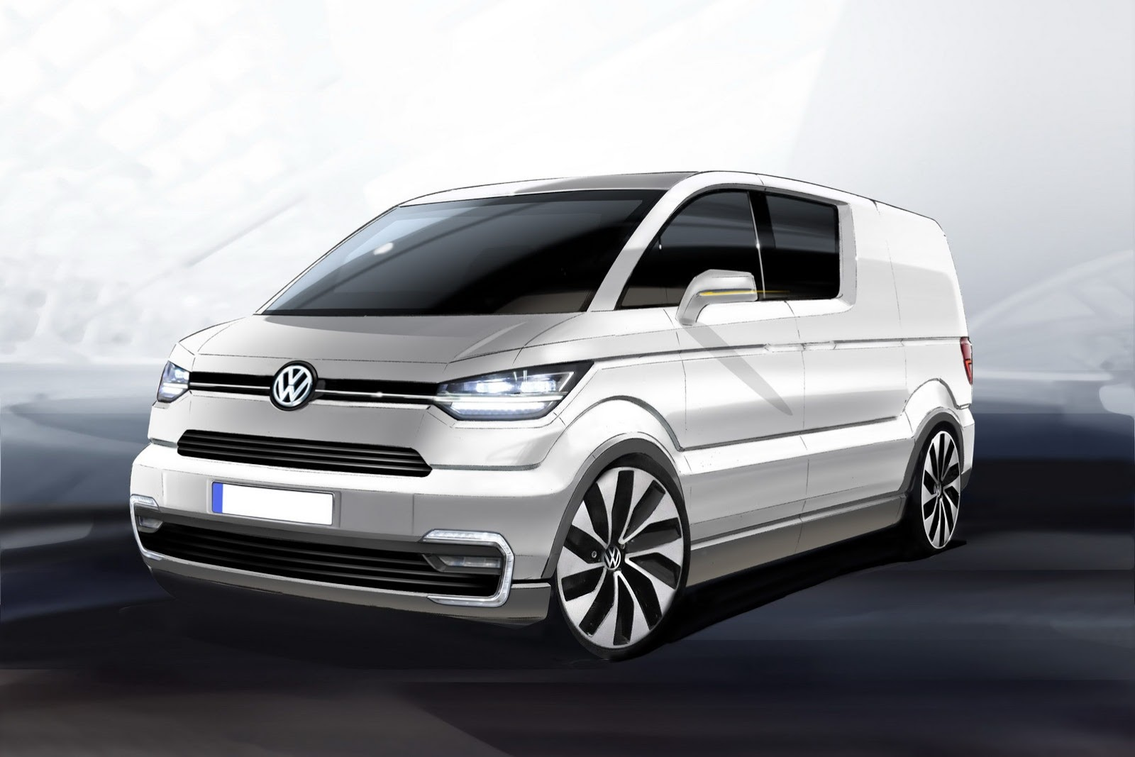 Volkswagen e-Co-Motion van revealed