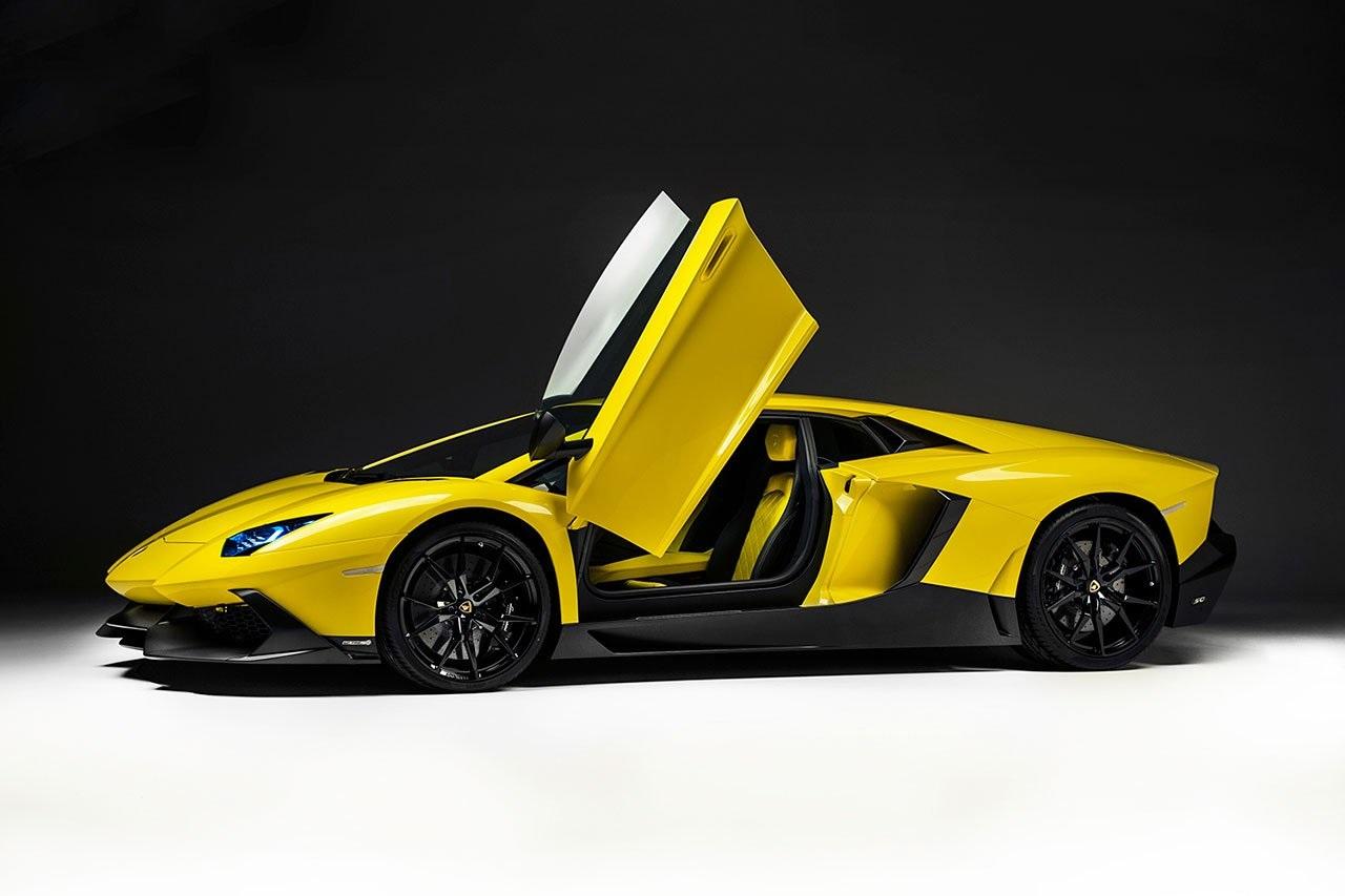 Lamborghini Aventador anniversary edition