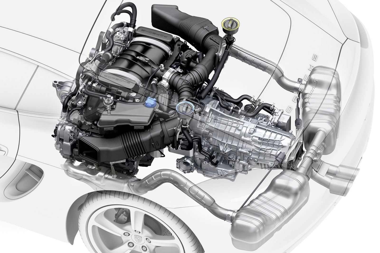Porsche rumored to launch new flat four-cylinder engine