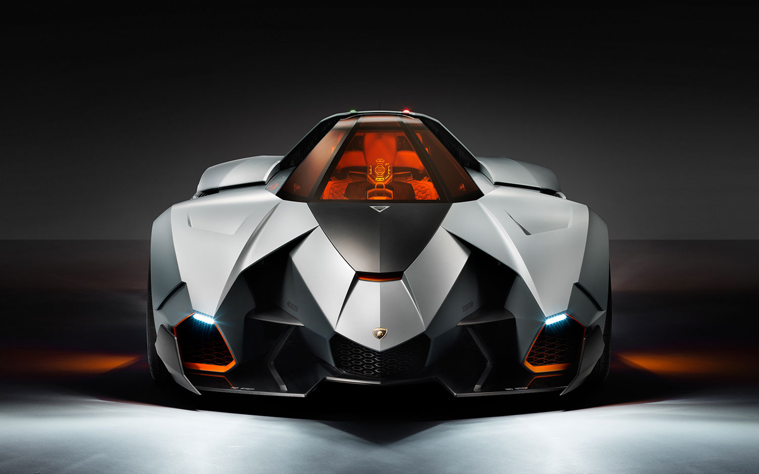The Lamborghini Egoista revealed