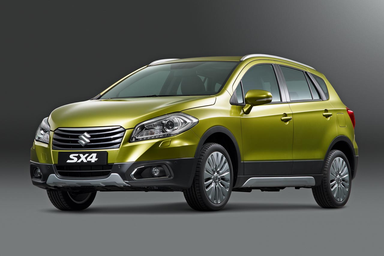 Suziki revealed SX4 S-Cross engine details