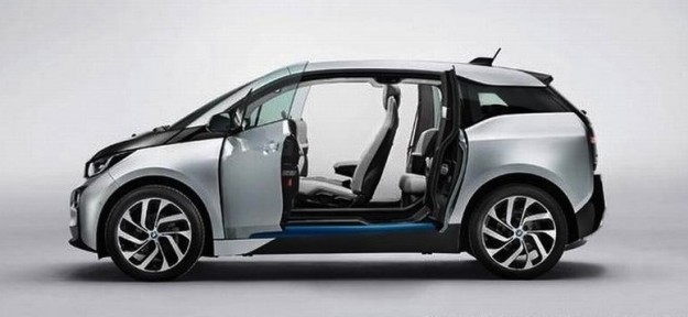BMW i3 production car images leaked