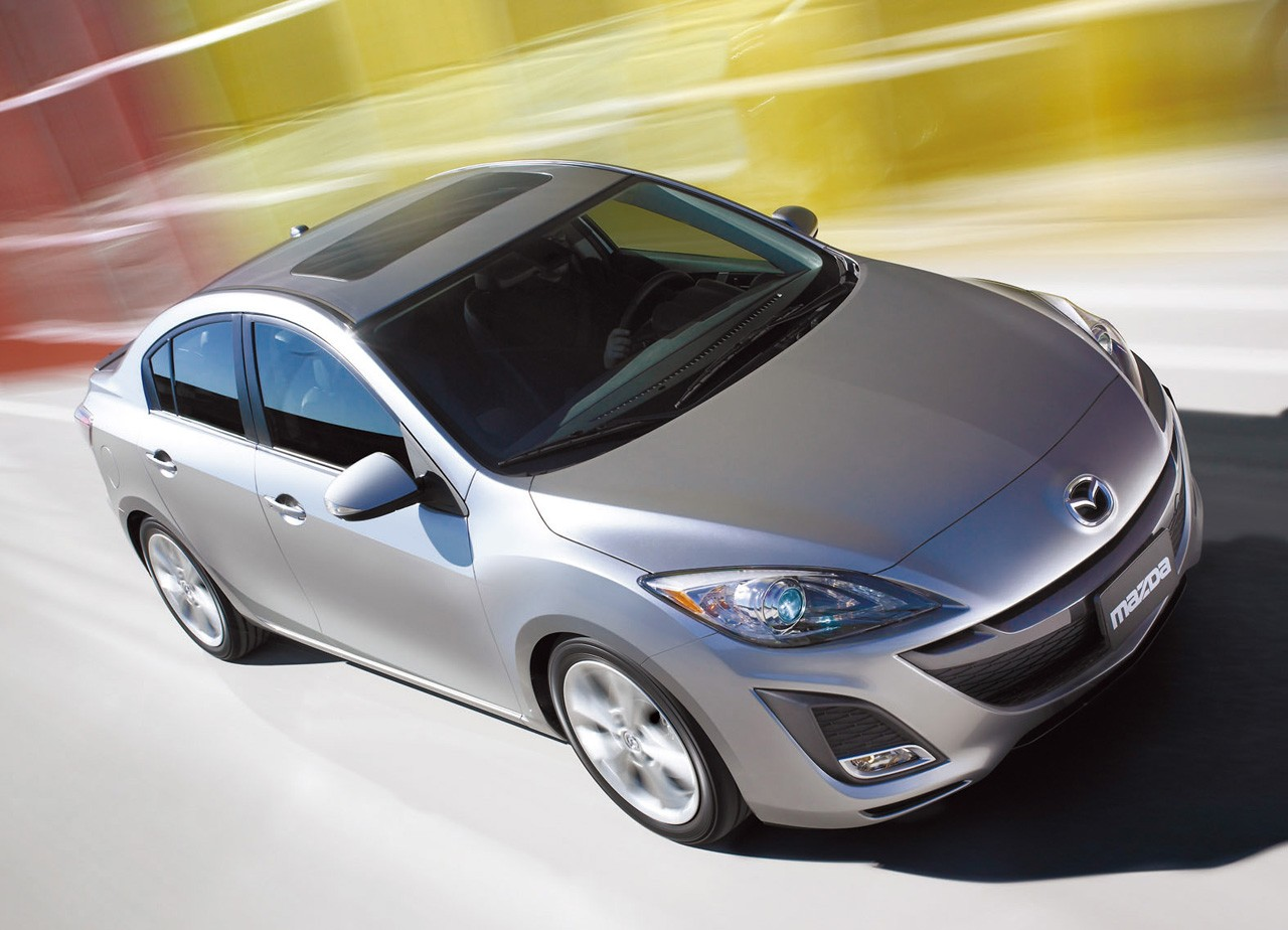 Mazda 3′s new infotainment system