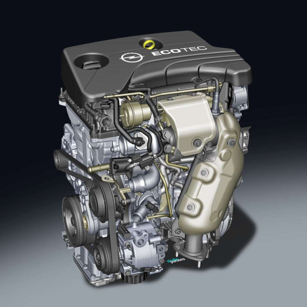 New turbocharged 1.0-litre three-cylinder engine from Opel