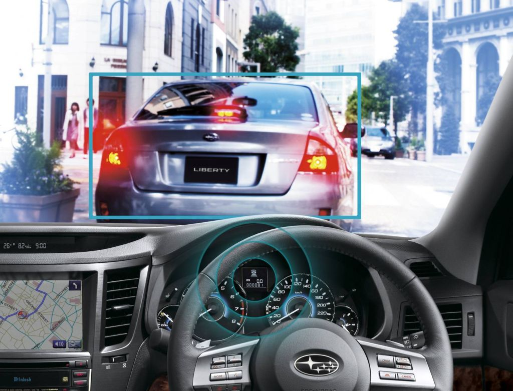 Subaru's new driver assist system features