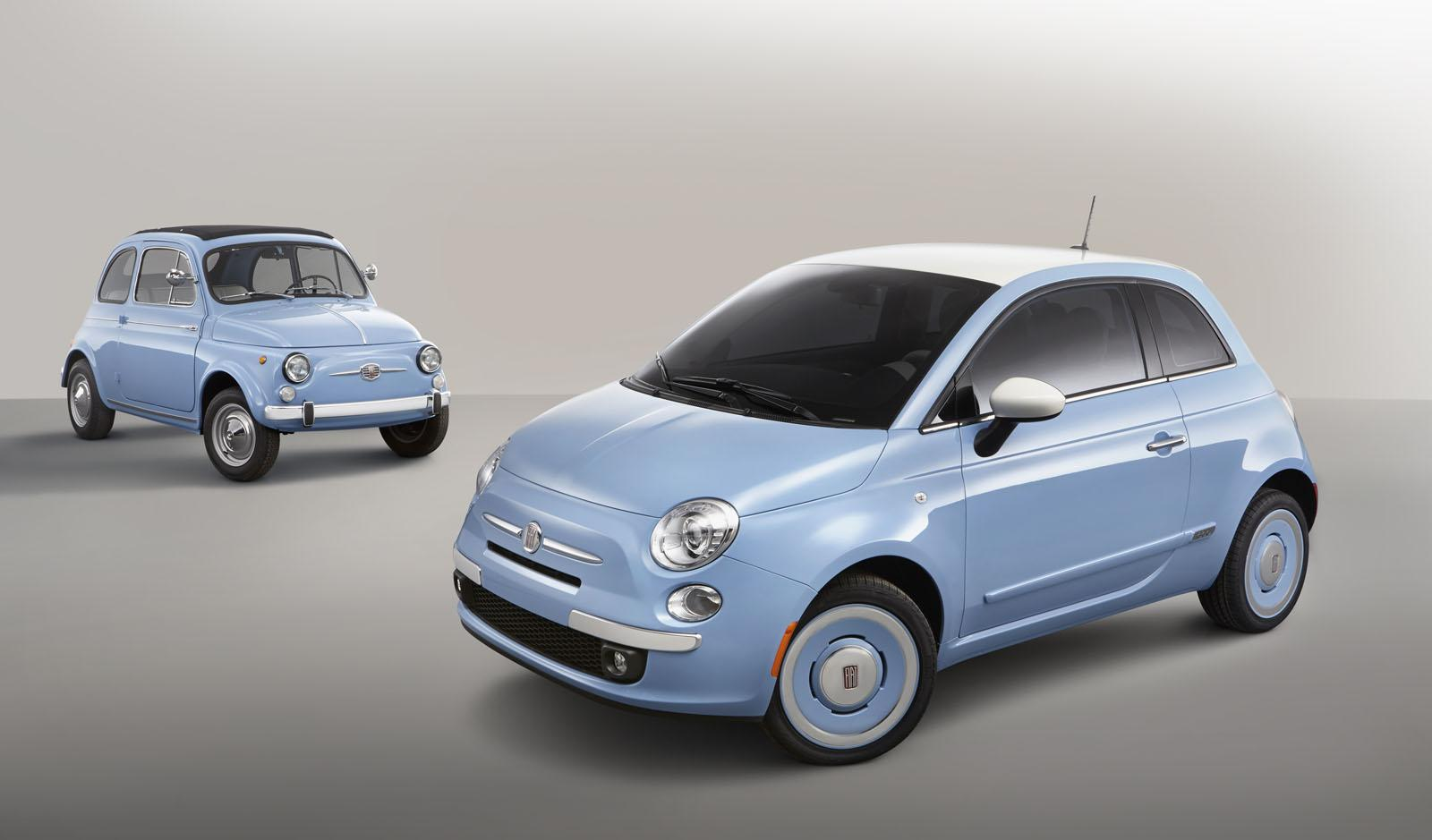 Fiat 500 1957 edition revealed