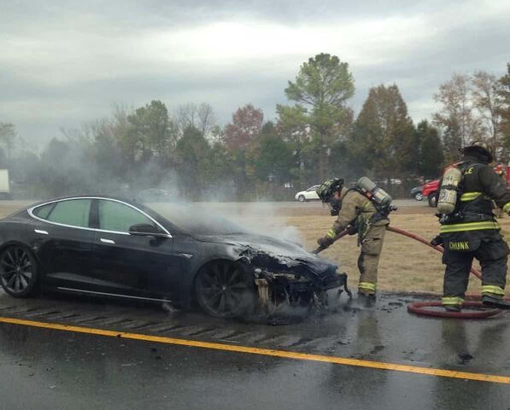 Tesla's third fire