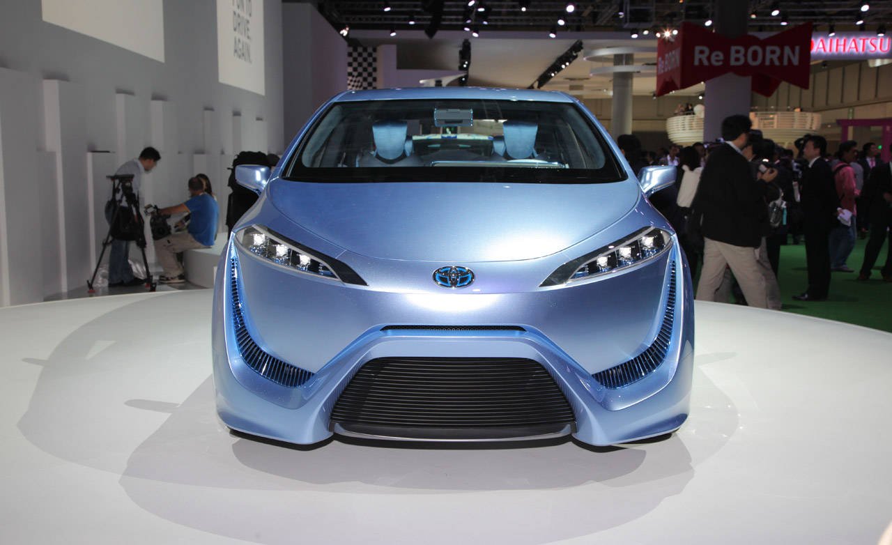 Hydrogen-powered concept revealed: Toyota FCV