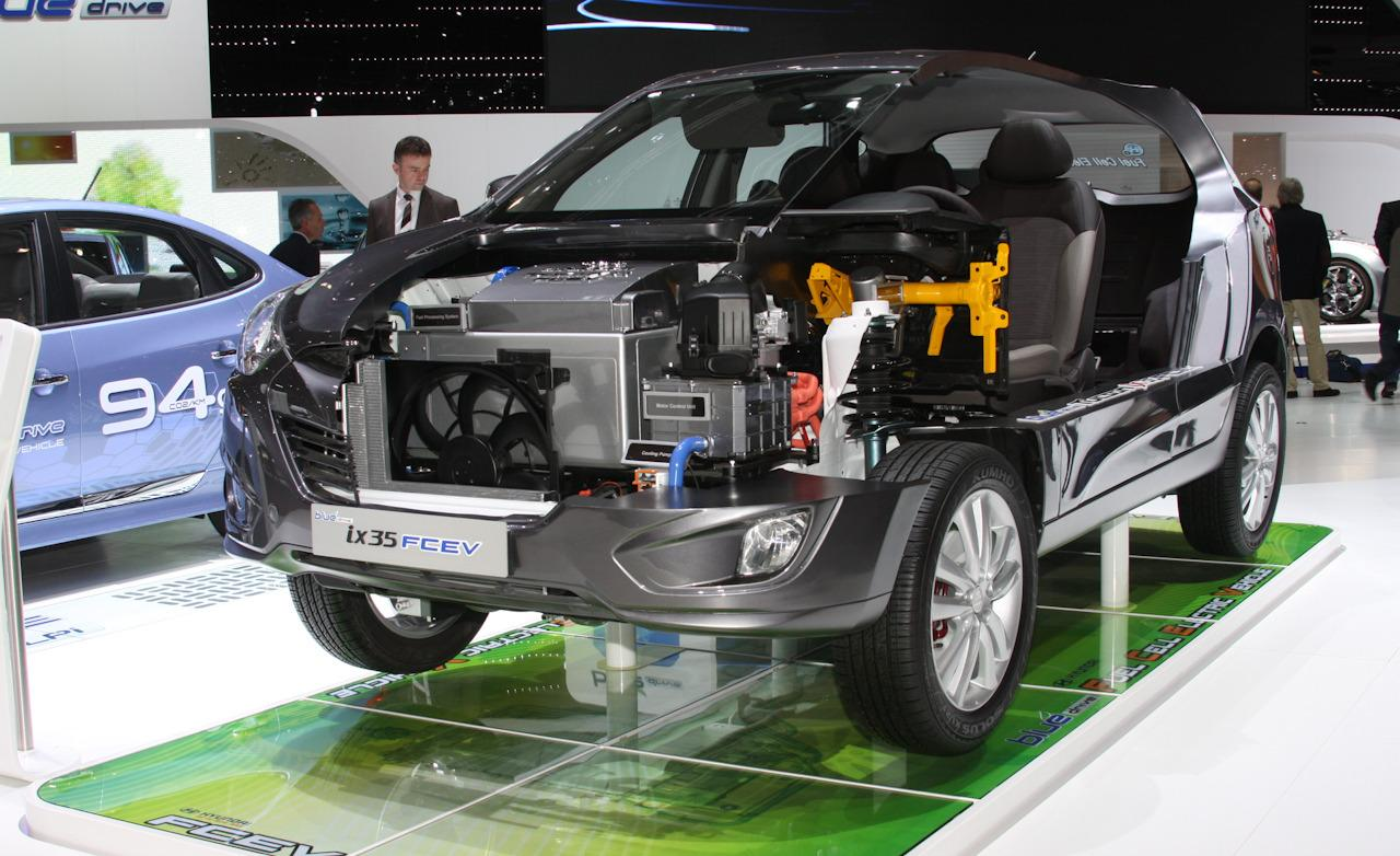 Hyundai ix35 Fuel Cell will come with free fuel in US