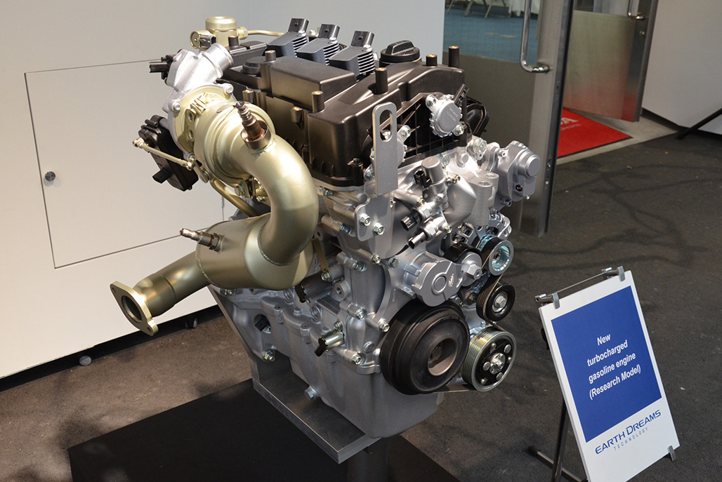 Honda to use new turbocharged 1.0L and 1.5L petrol engines