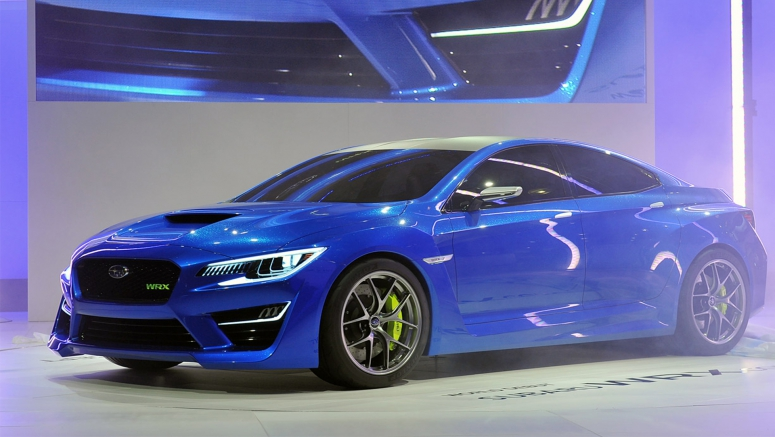 Subaru WRX STI revealed